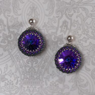 Dazzling Purple – Earrings