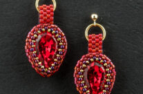 Lady in Red – Earrings
