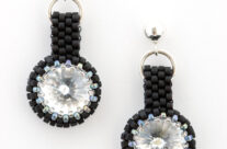 Black & White Classic Drop Earrings